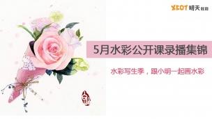 5月水彩公开课录播集锦