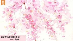 2期古风花卉网络班